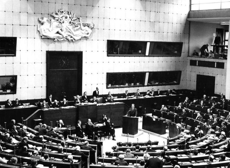 bundesarchiv b 145 bild f023908 0002 strassburg tagung des europarates - Die Menschenrechtskonvention und ihre Zusatzprotokolle