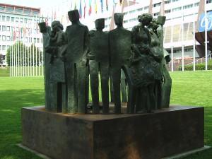 Strasbourg, Europarat-Denkmal