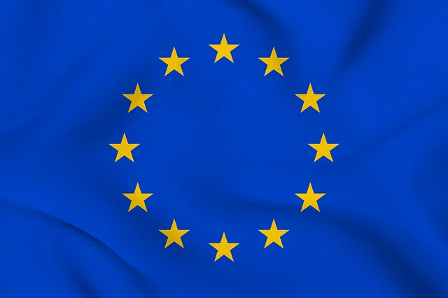 europaflagge - Protokoll Nr. 12 über das Diskriminierungsverbot