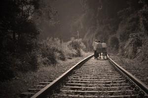 Personen-Schienen
