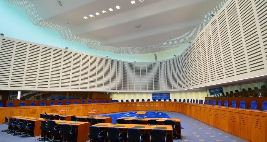 Europäischer Gerichtshof für Menschenrechte, Sitzungssaal